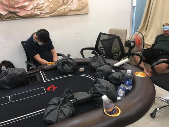 Một sòng bạc Poker do người nước ngoài bị công an triệt phá trước đó