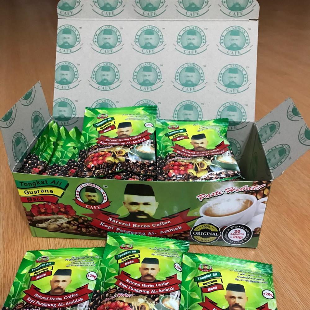 Cà phê thảo dược chứa chất kích dục được bán trên trang Shopee của Singapore