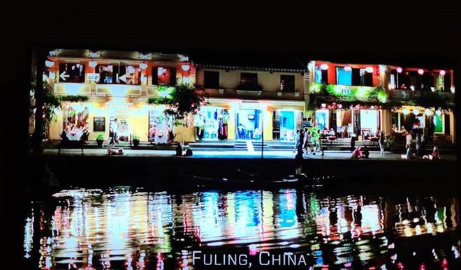 Hình ảnh Hội An trong phim được chú thích thuộc Trung Quốc.