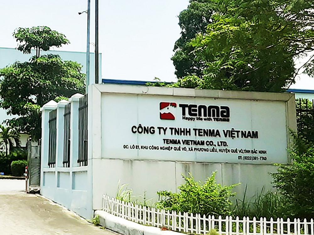 Công ty Tenma Việt Nam đã hối lộ cán bộ hải quan 5 tỷ đồng để trốn thuế nhập khẩu