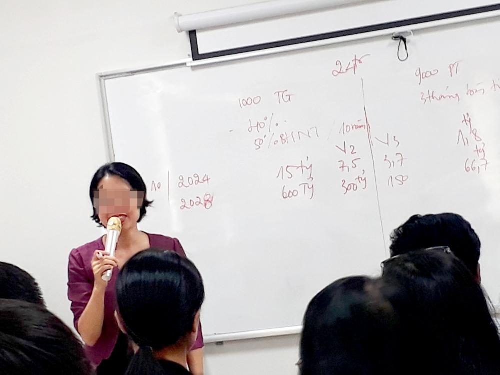 """Bà Trần Minh Thúy đang """"nổ"""" nhiều thông tin liên quan đến dự án X"""