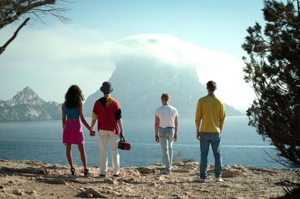 Một cảnh trong phim White Lines ăn khách trên Netflix thời gian qua được quay tại Tây Ban Nha
