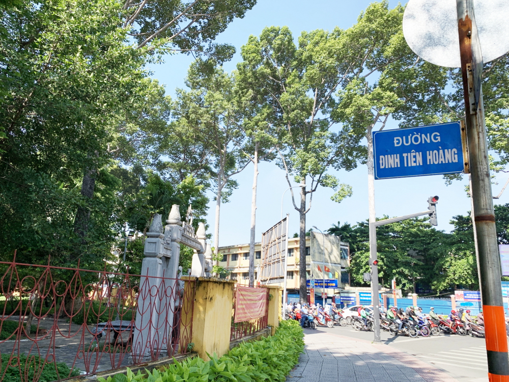 TP.HCM đang tổ chức lấy ý kiến về việc đổi tên một đoạn đường Đinh Tiên Hoàng (Q.Bình Thạnh) thành Lê Văn Duyệt, cũng là tên gọi trước năm 1975 của đoạn đường này