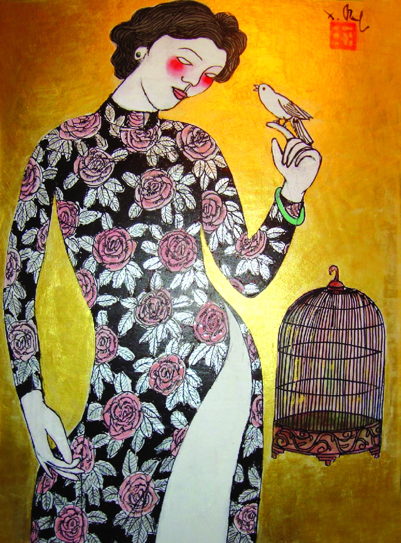 Tác phẩm Vulan festival free the bird