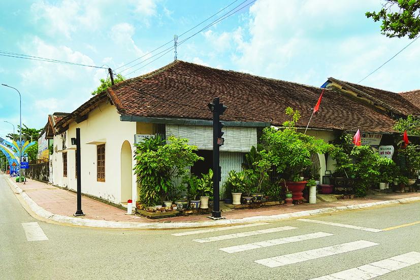 Góc bình yên của khu trung tâm Côn Đảo