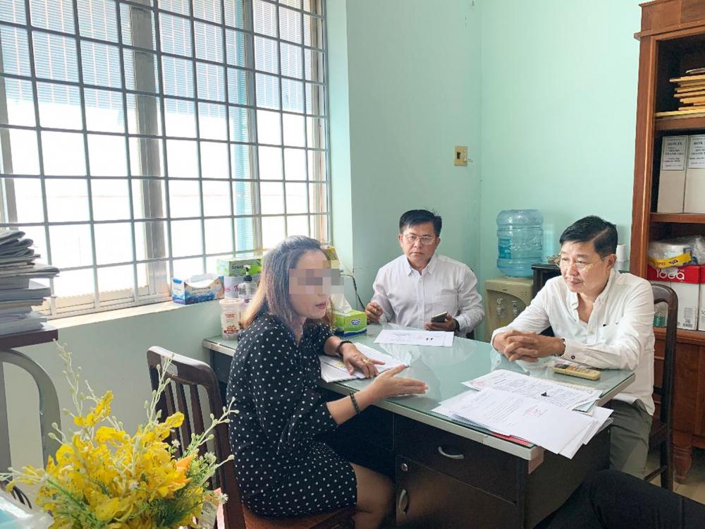 Thanh tra Sở Y tế Đồng Nai làm việc với bà Trần Xuân Ngọc