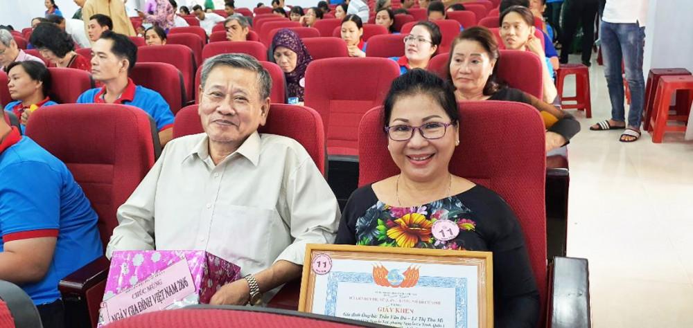 Vợ chồng ông Trần Văn Đủ và bà Lê Thị Thu Mì, P.Nguyễn Cư Trinh, Q.1