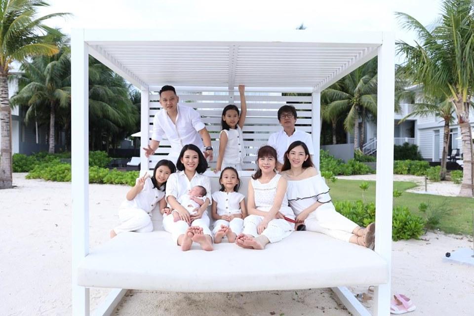 Tận dụng mọi thời gian để ở bên gia đình(Ảnh nhân vật cung cấp)