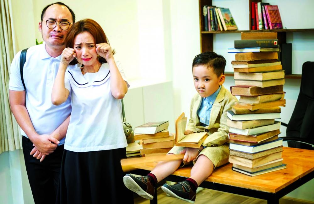 Trong gia đình Thu Trang - Tiến Luật,  mỗi người luôn là hậu phương vững chắc cho nhau