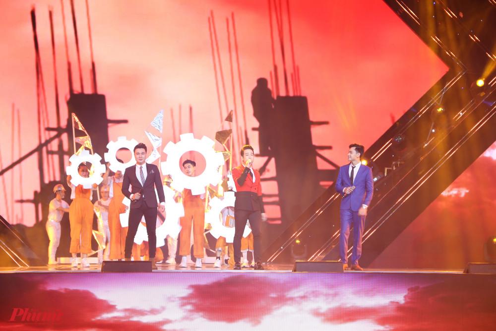 Tùng Lâm, Đăng Nguyên, Triệu Lộc thể hiện ca khúc Thành phố tình yêu