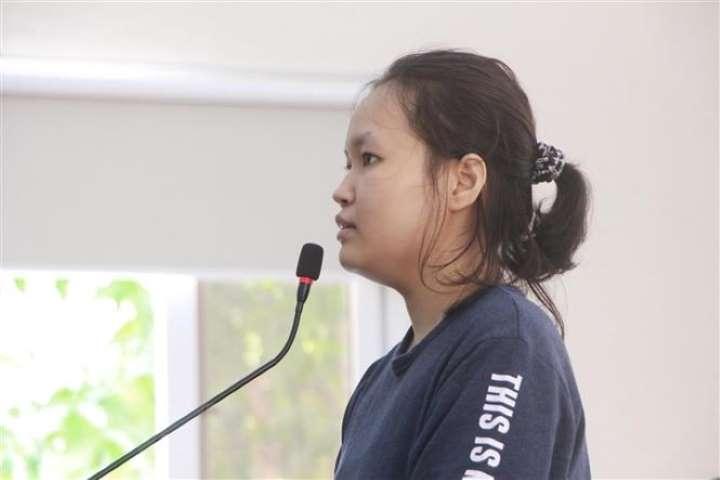 Bị cáo Thiên Hà chỉ xin lỗi gia đình nạn nhân vì gây ra tổn thương nhưng không thừa nhận hành vi của bản thân là sai