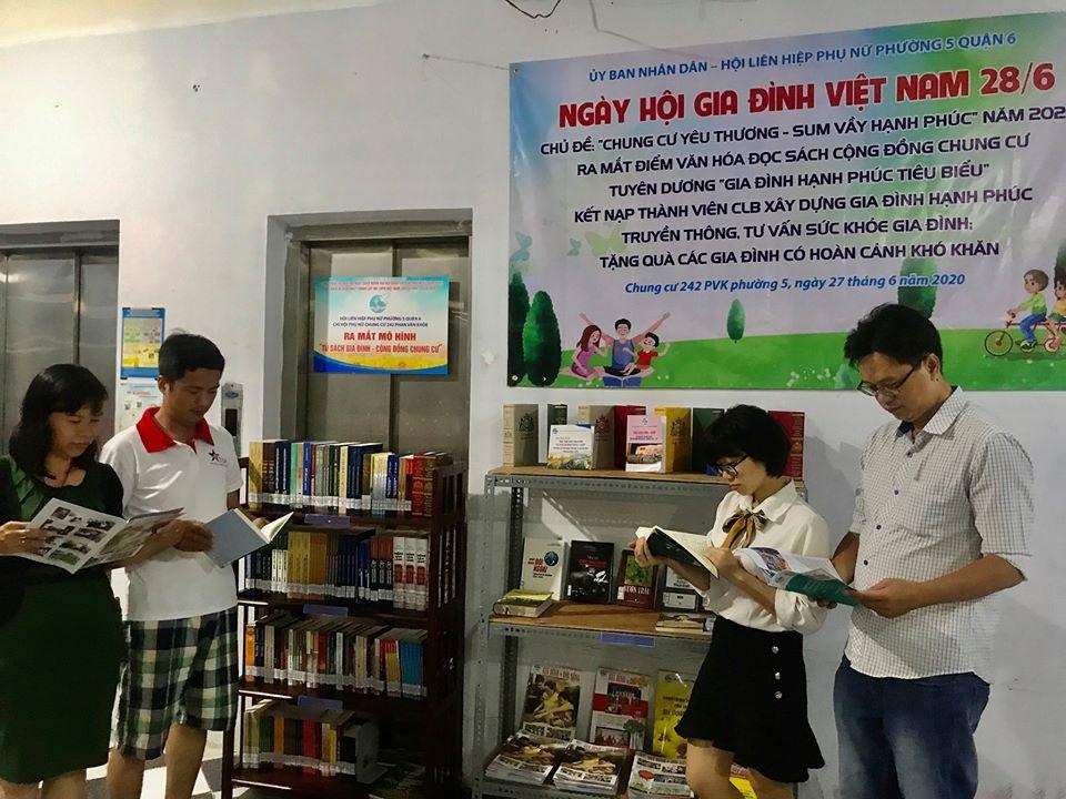 Không chỉ tập trung hoạt động về cấp quận, các chi hội khu phố, Hội LHPN các phường cũng có nhiều hoạt động hướng về Ngày Gia đình Việt Nam