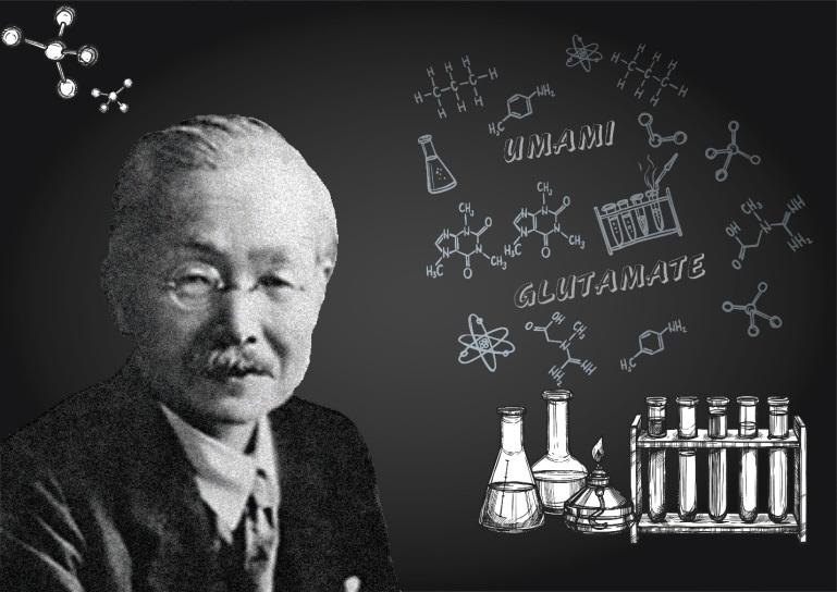 Giáo sư Kikunae Ikeda là người đã khám phá ra vị umami - vị cơ bản thứ năm trong ẩm thực