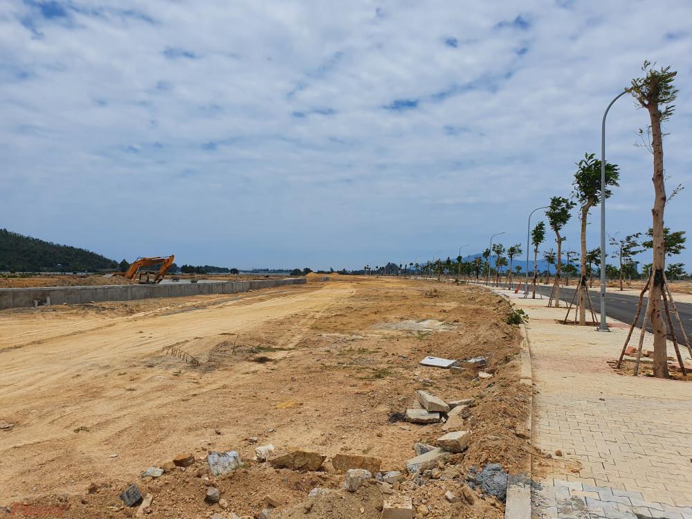 Một góc khu E trong khu đô thị Goden Hills của công ty CP Trung Nam