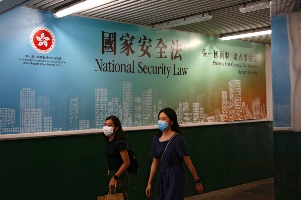 Ngày 30/6, 162 thành viên Đại hội đại biểu Nhân dân toàn quốc Trung Quốc đã nhất trí thông qua Luật An ninh Quốc gia đối với Hồng Kông - Ảnh: SCMP