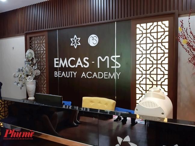 Bệnh viện Thẩm mỹ Emcas, nơi BS Đinh Văn Hưng xảy ra ca tử vong sau nâng ngực - Ảnh: Phạm An