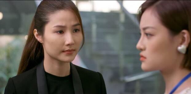 Linh ( diem my đóng) trong Tình yêu và tham vọng khiến người xem ức chế vì lòng tốt của mình dành cho mẹ kế và cô em gái cùng cha khác mẹ