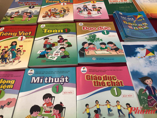 Sách giáo khoa lớp 1 chương trình mới