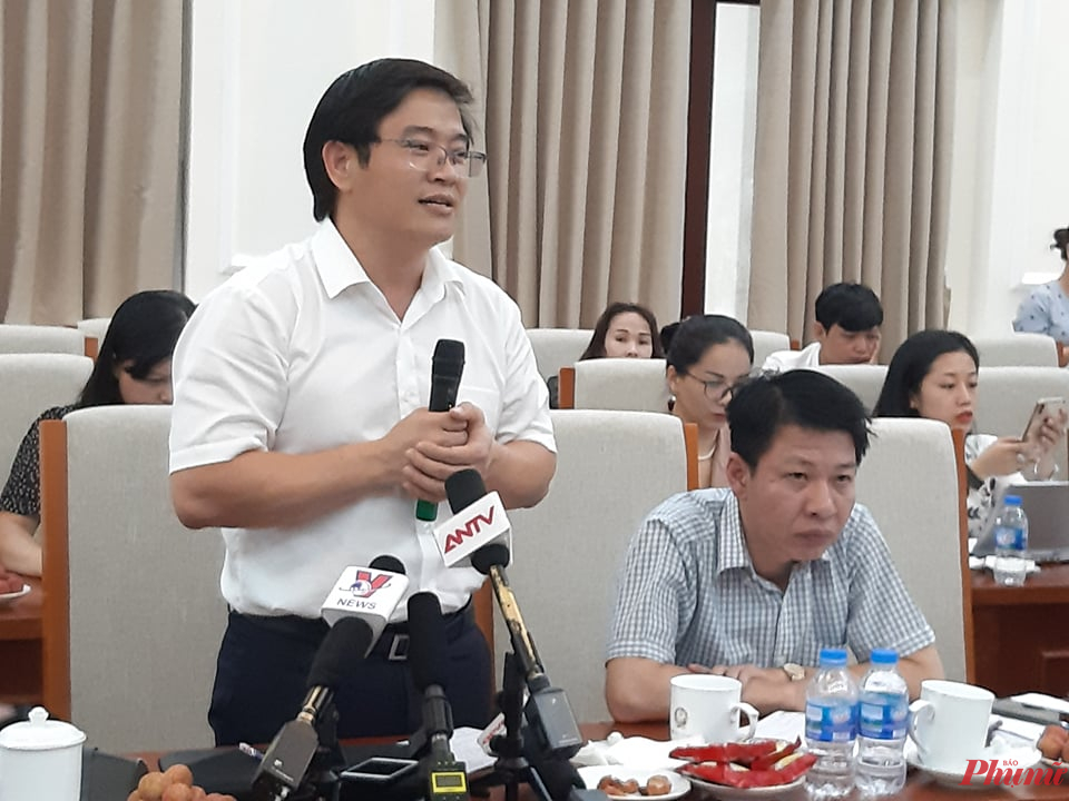 TS. Thái Văn Tài – Vụ trưởng Vụ Tiểu học, Bộ GD-ĐT (ảnh: Đại Minh)