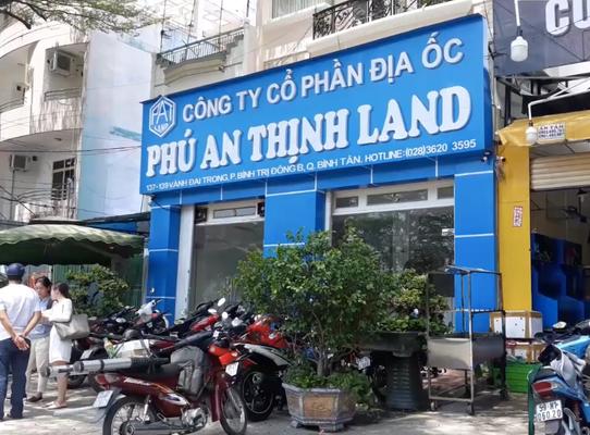 Công ty Phú An Thịnh Land rao bán nhiều dự án ma tại Long An