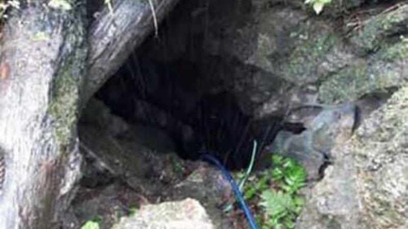 Khu vực hang Sa Đeng - nơi xảy ra vụ việc