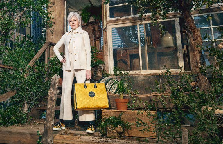 Jane Fonda, nhân vật chính trong chiến dịch Off The Grid của Gucci