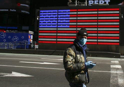 Làn sóng lây nhiễm COVID-19 tại Mỹ vẫn còn đang trong giai đoạn thứ nhất.