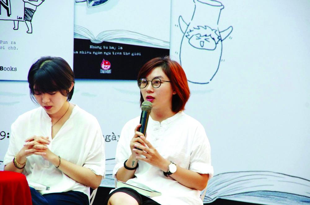 Hai tác giả của Chuyện: Thiên Bình và Thanh Nguyễn