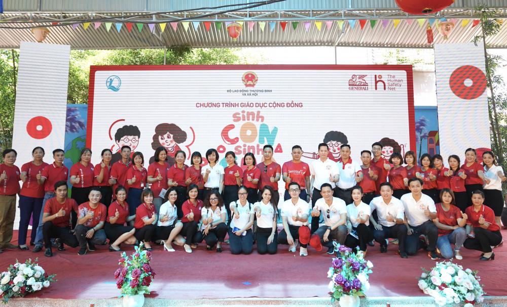"""Chương trình giáo dục cộng đồng """"Sinh con, Sinh cha"""" nằm trong khuôn khổ tài trợ của chương trình """"The Human Safety Net"""" của Tập đoàn Generali"""