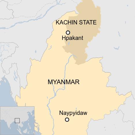 Vị trí xảy ra tai nạn nằm gần biên giới Trung Quốc và Ấn Độ.