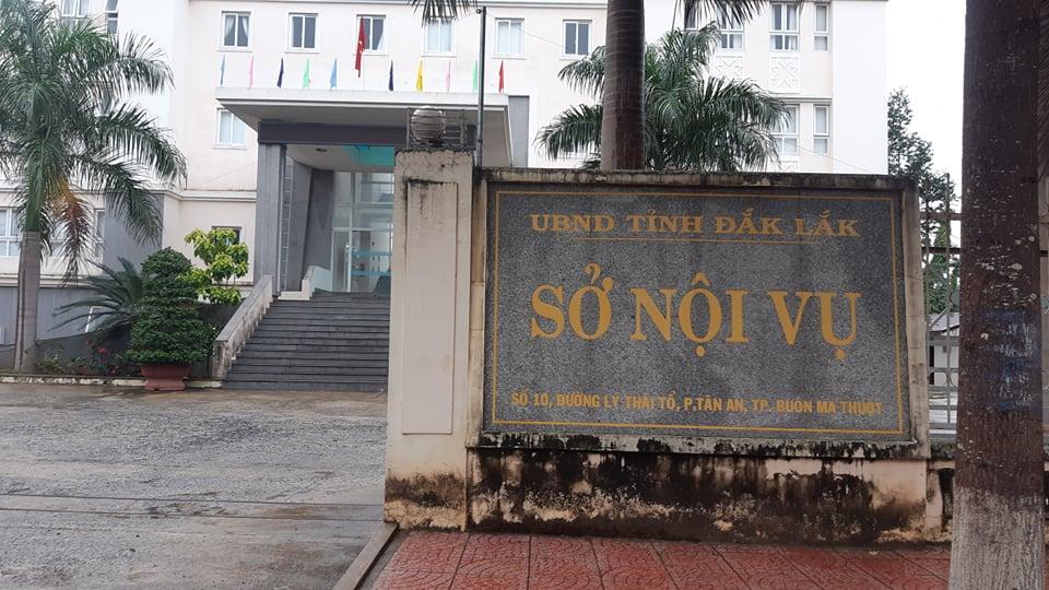 Sở Nội vụ tỉnh Đắk Lắk