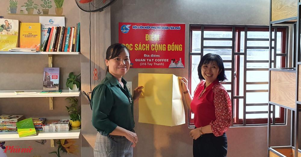 Hội LHPN quận Tân Phú ra mắt mô hình điểm đọc sách cộng đồng