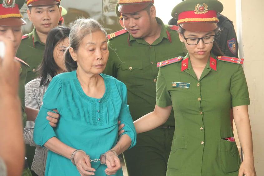 Bị cáo Hoa bị tuyên án