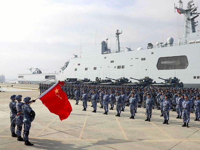 Bộ Quốc phòng Mỹ chỉ trích Trung Quốc tập trận ở Biển Đông - Ảnh: Breitbart/Getty Images