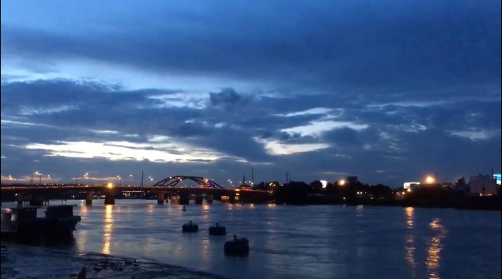Sông Sài Gòn nhìn từ trạm Thanh Đa