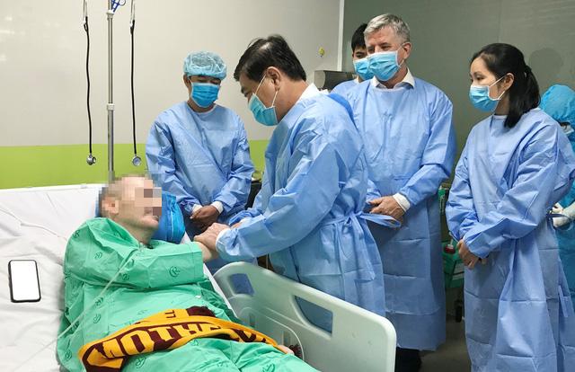 Bệnh nhân 91 đã đủ sức khỏe để hồi hương