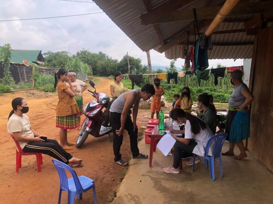 Ngành Y tế tỉnh Đắk Nông tiếp tục kiểm soát chặt chẽ tại các ổ dịch bạch hầu