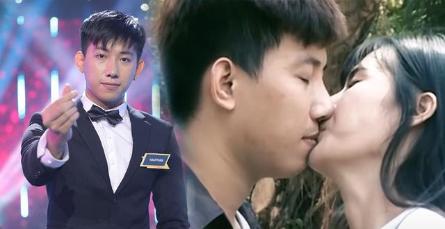 Nam Phạm bị phát hiện đã từng nhận có người yêu và hôn một cô gái trong một chương trình hẹn hò trước đó