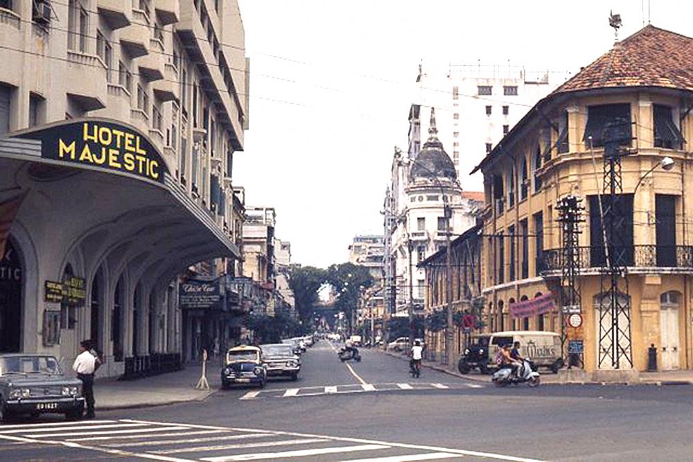 Đường Đồng Khởi - một trong những con đường lâu đời nhất của TP.HCM - Ảnh tư liệu