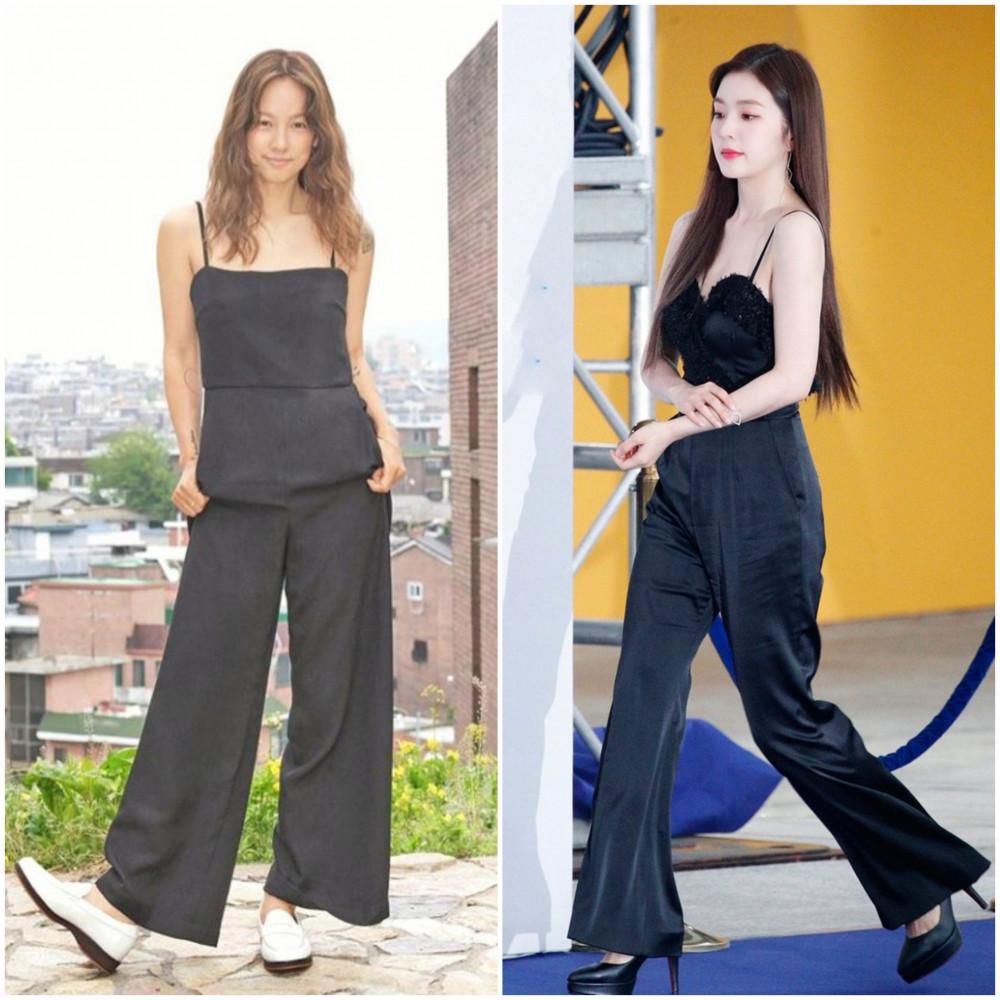 Bộ jumpsuit dài phù hợp với các bạn nữ có vóc dáng cao ráo.