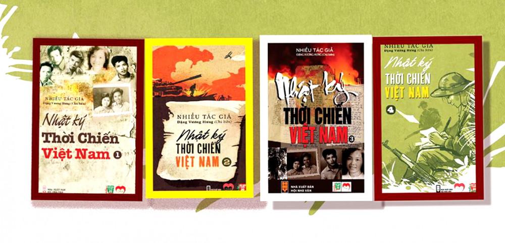 Nhật ký thời chiến Việt Nam - công trình 16 năm của đại tá, nhà văn Đặng Vương Hưng và các cộng sự