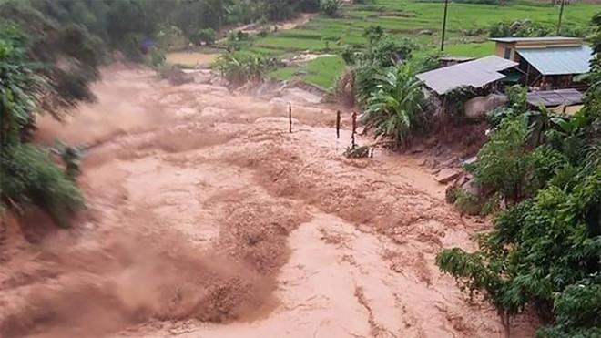 Một trận lũ quét ở xã Na Mèo (tỉnh Thanh Hóa) xảy ra vào đầu tháng 8/2019