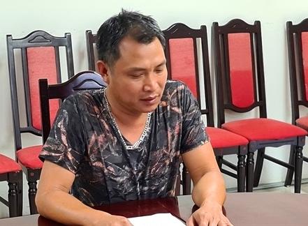 Đối tượng Nguyễn Văn Lợi trốn trong tủ lạnh ca bi để tránh cách ly từ Lào về Việt Nam