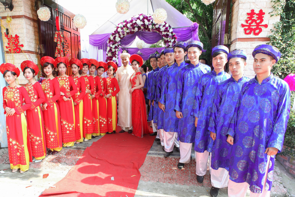 Đám cưới tổ chức theo kiểu truyền thống cũng có nhiều ưu điểm riêng