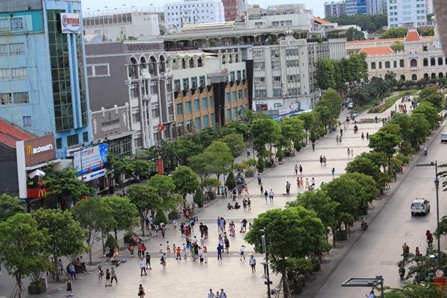 Đường Nguyễn Huệ là 1 trong 8 tuyến đường bị điều chỉnh giao thông ngày 12/7.