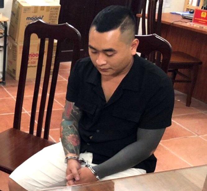 Đối tượng Đào Minh Hoàng.