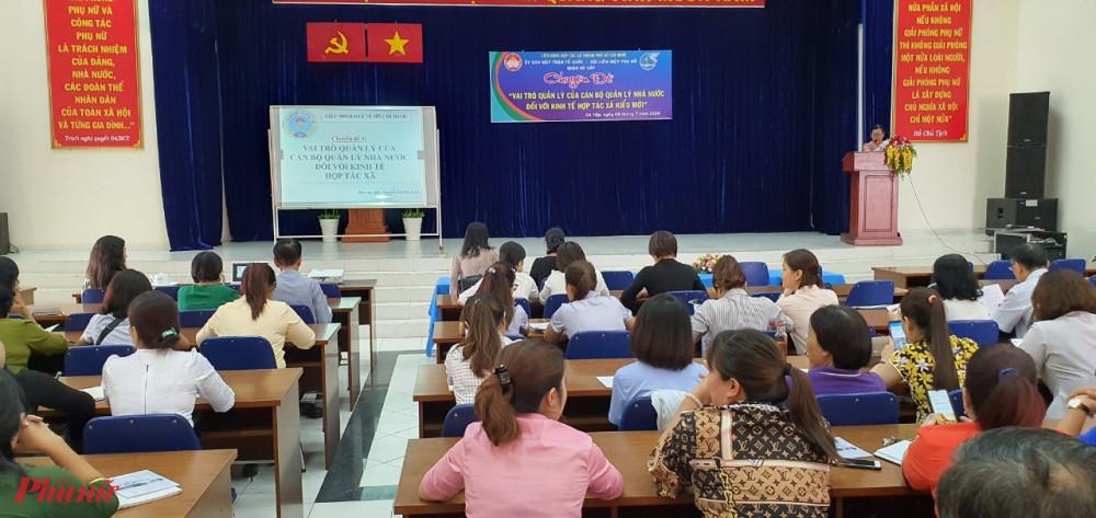 Hội nghị chuyên đề về hợp tác xã kiểu mới vừa được tổ chức tại quận Gò Vấp.