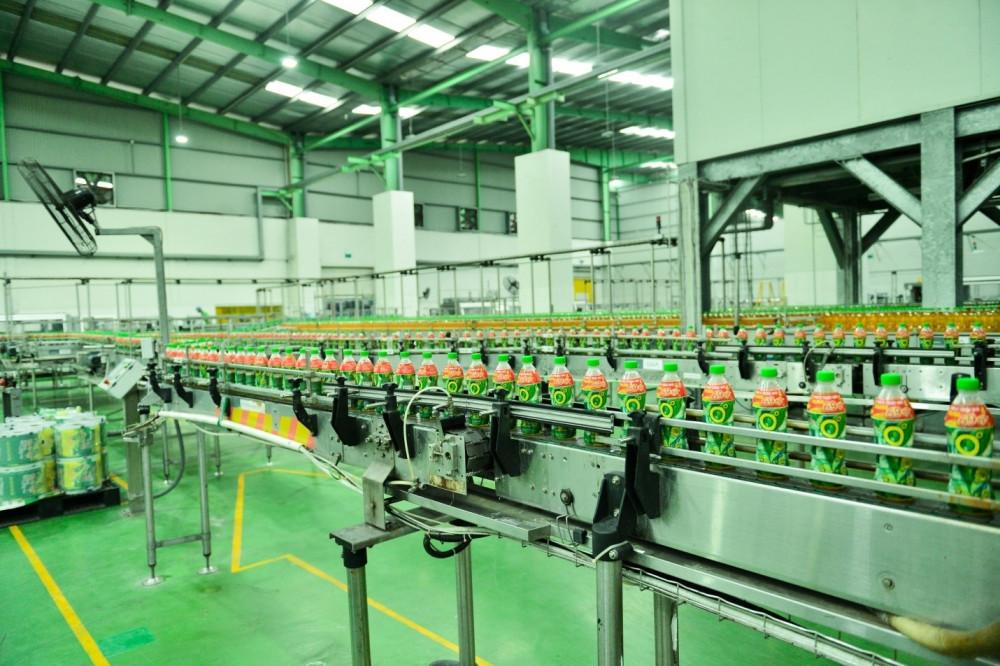 Dây chuyền công nghệ vô trùng Aseptic tại nhà máy Number One Hà Nam