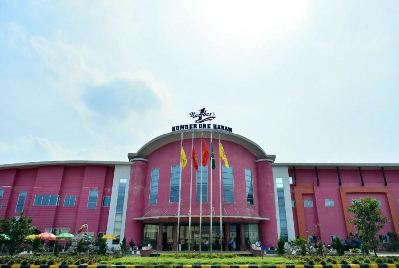 Mặt tiền nhà máy Number One Hà Nam