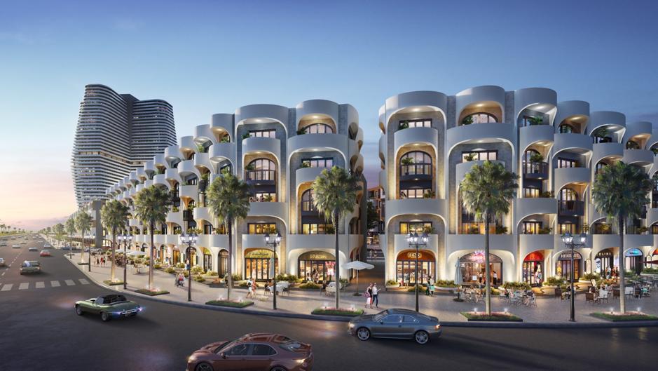 Thiết kế kiến trúc ấn tượng của Kỳ Co Gateway đang tạo cảm hứng mới cho du khách